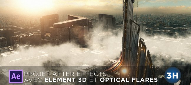 Tuto Créer votre ville futuriste dans After Effects After Effects