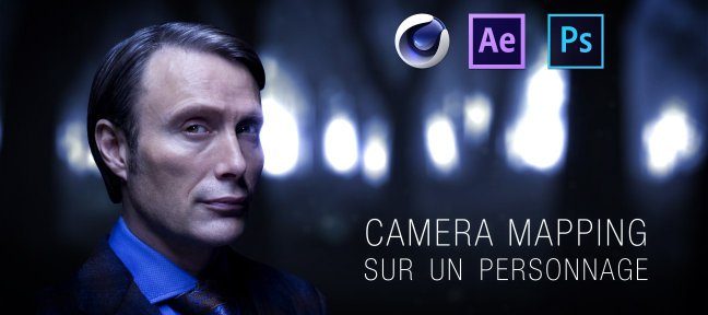 Tuto Camera Mapping sur un personnage Cinema 4D