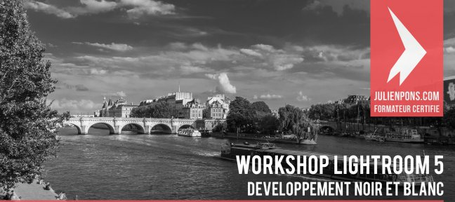 Workshop Lightroom 5 - Développer en noir et blanc