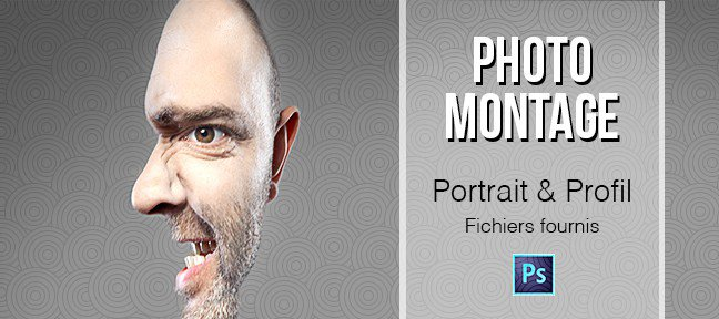 Photomontage : Le portrait profil