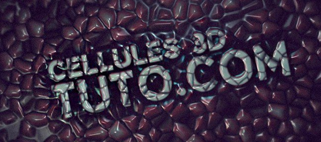 Tuto Cellule 3D dans After Effects After Effects