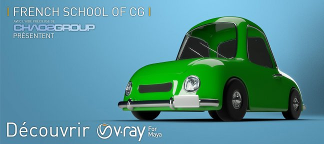 Tuto Gratuit : Découvrir V-Ray 3.0 pour Maya Vray