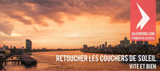 Tuto Gratuit Lightroom : Retoucher les couchers de soleil Lightroom