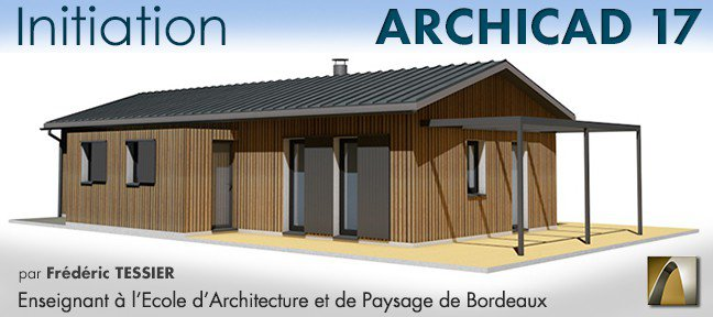Formation Archicad 17 : initiation