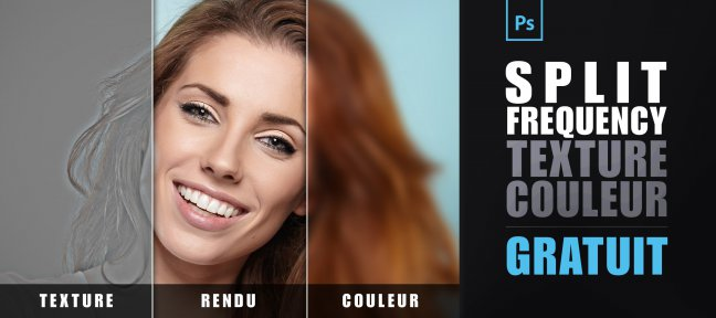 Tuto Gratuit : le split frequency dans Photoshop Photoshop