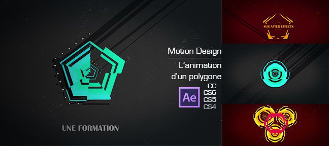Tuto Le motion design - L'animation d'un polygone After Effects