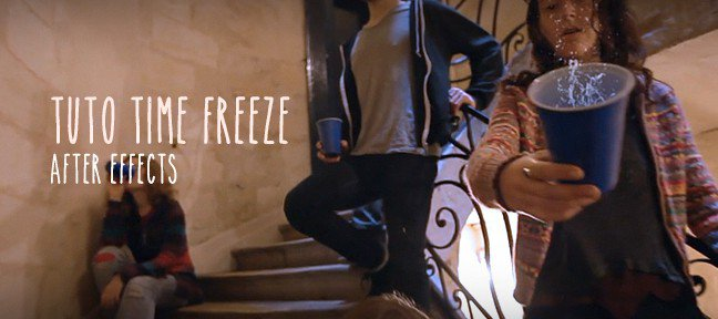 Tuto Time Freeze After Effects After Effects