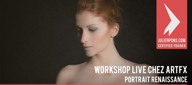 Tuto Gratuit Workshop ArtFX - Portrait de la Renaissance Italienne Photo