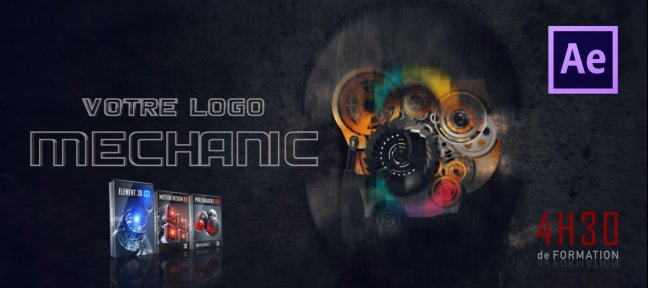 Tuto Votre logo mécanique avec After Effects After Effects