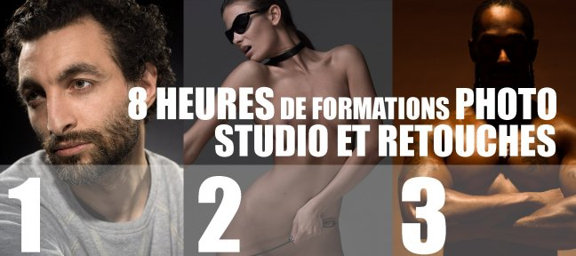 Tuto Bundle photo de studio Photo