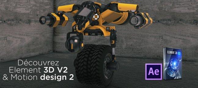 tuto gratuit   cr u00e9er votre premier robot avec element 3d