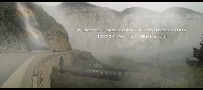 Tuto Matte Painting et Compositing : 100% After Effects After Effects