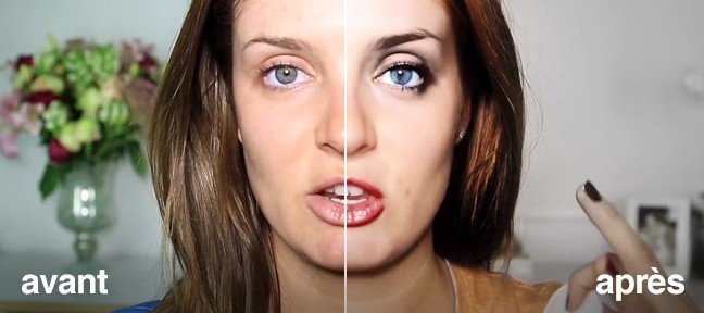 tuto maquillage numérique sur une vidéo dans after effects avec