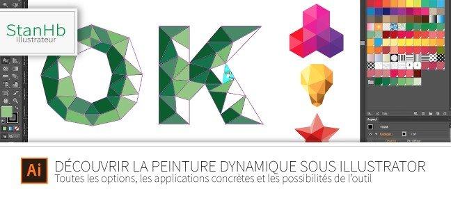 Tuto La Peinture Dynamique Avec Illustrator