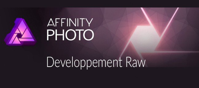 Affinity Photo Developpement Raw