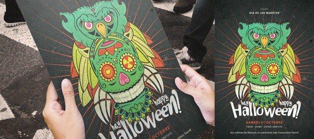 Création d'une affiche Halloween de A à Z avec Illustrator