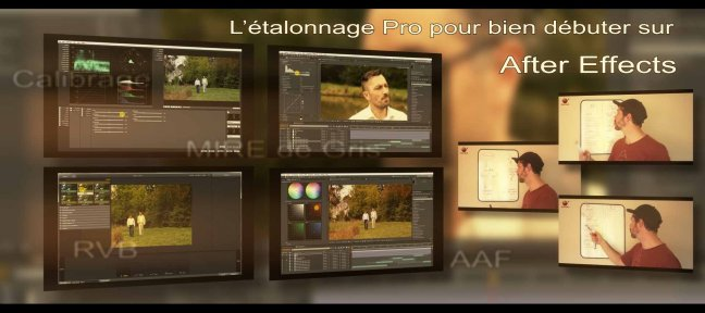 Les bases de l'étalonnage sur After Effects