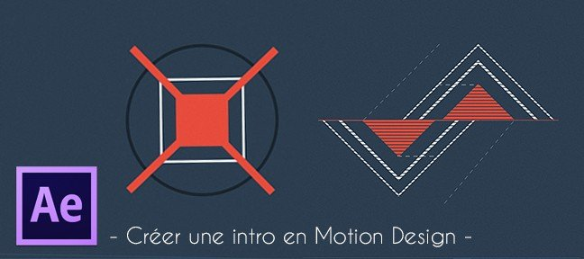 Tuto Créer une intro en motion design After Effects