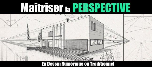 Tuto ma triser la perspective avec photoshop cc sur - Dessin en perspective d une maison ...