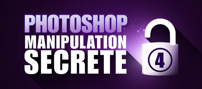 Tuto Photoshop Gratuit : Manipulation secrète volume 4 Photoshop