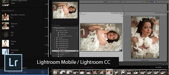 Gratuit : Lightroom Mobile