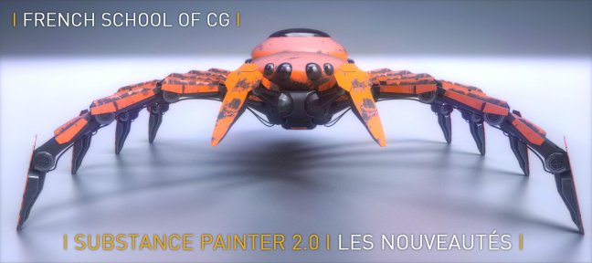 Tuto Gratuit Substance Painter 2.0 : Les nouveautés Substance Painter