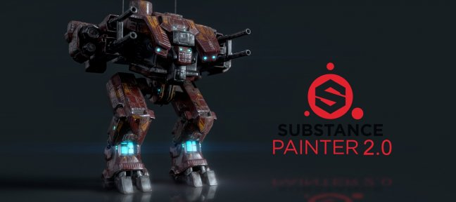 Tuto 03 MECHA : Texturing dans Substance Painter 2.0 Substance Painter