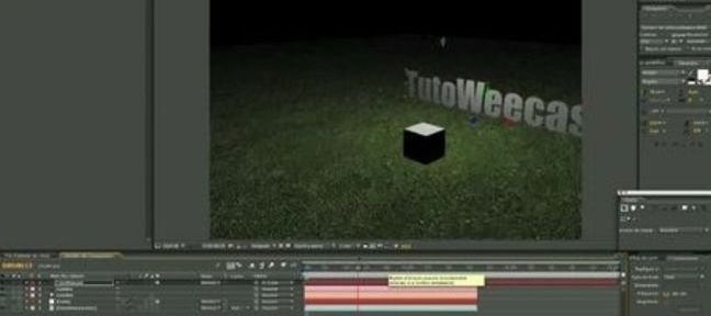 Exporter la caméra de C4D vers After Effects