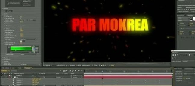 Tuto Générique d'émission TV avec After Effects After Effects
