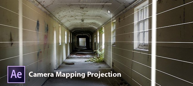 After Effects : Camera Mapping Projection