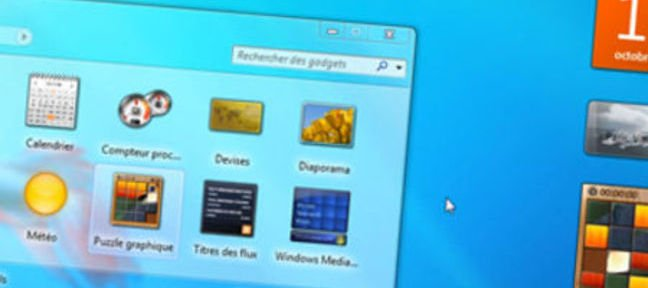 Les Gadgets - Windows 7