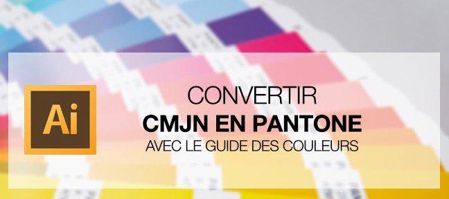Convertir une couleur CMJN en Pantone(r)