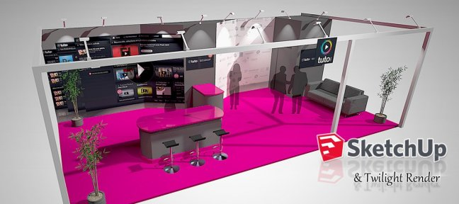 tuto sketchup 120 formations sketchup en vid o sur tuto com. Black Bedroom Furniture Sets. Home Design Ideas