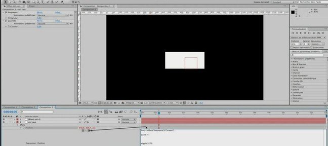 Tuto KeyFrames et Wiggle After Effects