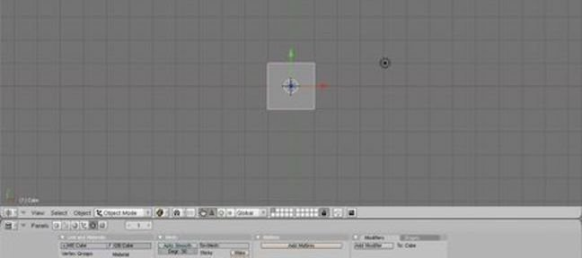 Manipulation de base de Blender