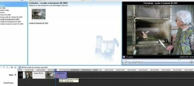 Monter simplement une video avec Windows Movie Maker