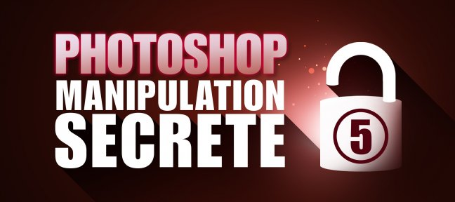 Tuto Photoshop Gratuit : Manipulation secrète volume 5