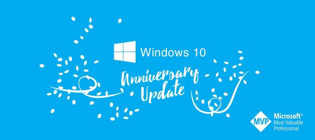 Formation Windows 10 avec mise à jour Anniversary Update