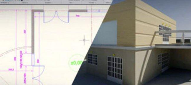 Tuto dessiner un plan de maison avec autocad avec autocad for Dessiner un plan de maison avec visio