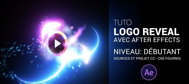 Logo Reveal avec After Effects