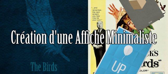 Tuto gratuit cr ation d 39 une affiche minimaliste avec for Affiche minimaliste
