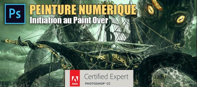 Tuto Peinture numérique : Initiation au Paint Over Photoshop