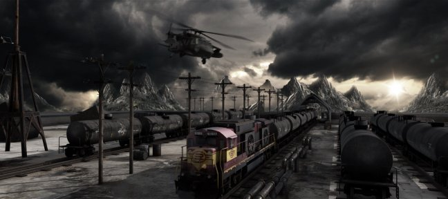 Tuto MAD TRAIN avec Element 3D V2 After Effects