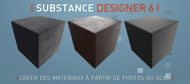 Tuto Substance Designer : Créer un matériau à partir de Photos/Scans Substance Designer