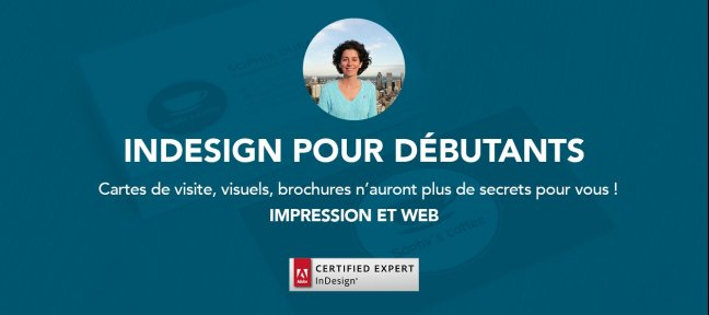 Tuto Formation InDesign (avec initiation Photoshop) pour débutants Indesign