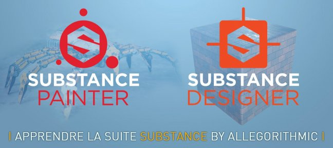 Tuto Bundle : Apprendre Substance Designer et Substance Painter Substance Painter