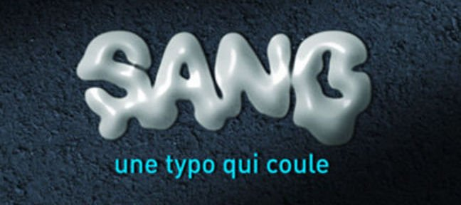 Tuto Une typo qui coule After Effects