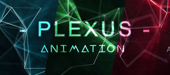 Titrage animé avec After Effects, Plexus et Trapcode Shine