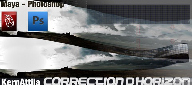 Tuto Correction d'horizon Maya