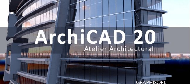 Tuto ArchiCAD 20 : Atelier Architectural Archicad
